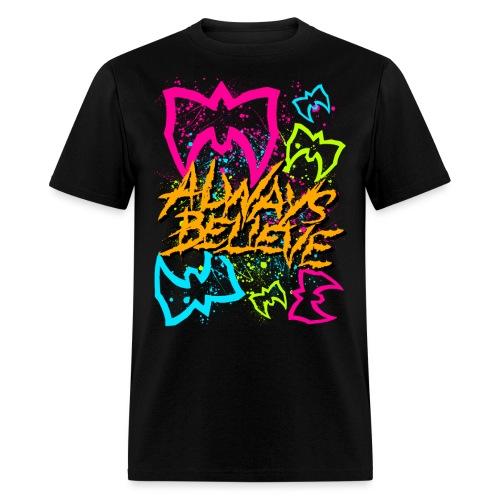 Neon Believe png - Men's T-Shirt