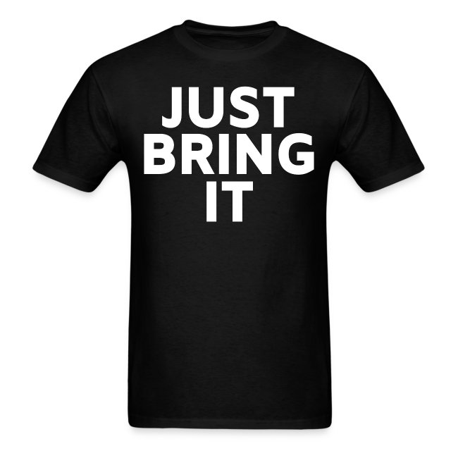 The Rock Just Bring It shirt