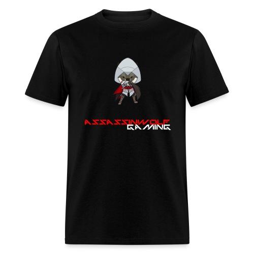 heather gray assassinwolf Tee - Men's T-Shirt