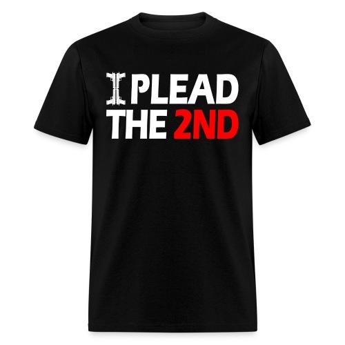 I Plead - White FNT - Men's T-Shirt