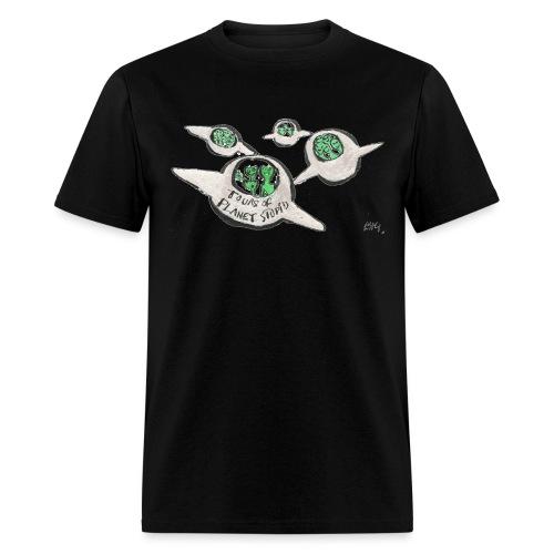 Tours of Planet Stupid - Men's T-Shirt