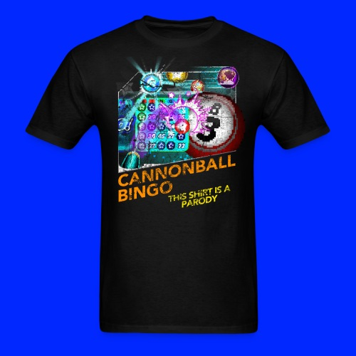 Vintage Cannonball Bingo Box Art Tee - Men's T-Shirt