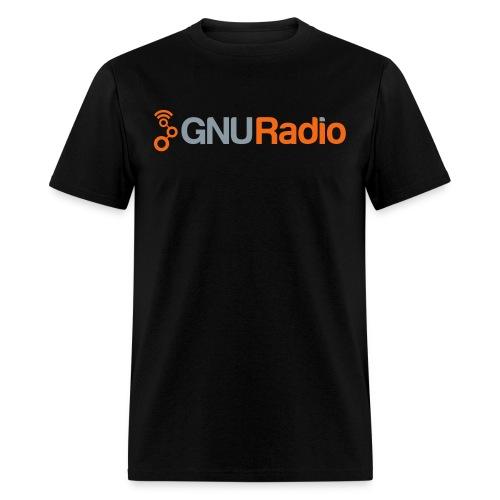 GNU Radio Logo Full - Men's T-Shirt