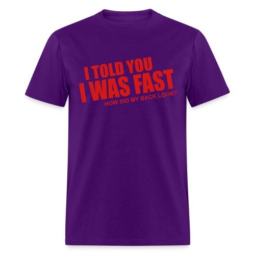 faster - Men's T-Shirt