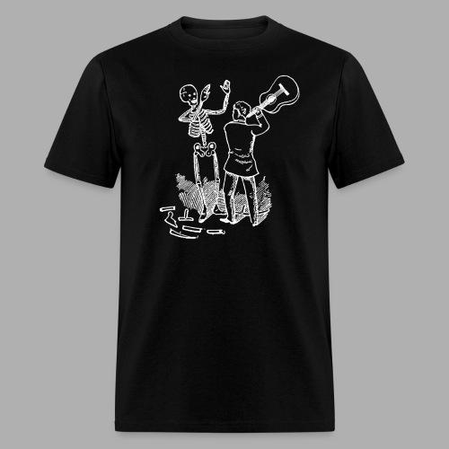 Dying For Bad Music White Print Unbranded - Men's T-Shirt