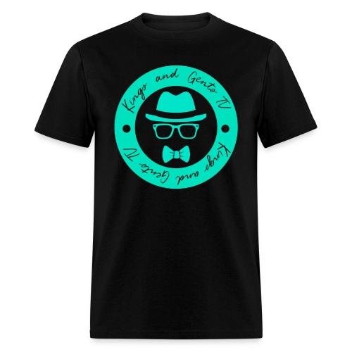 Kings and Gents TV Logo - Men's T-Shirt