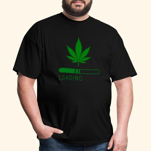 Pot Leaf Loading Design - Men's T-Shirt
