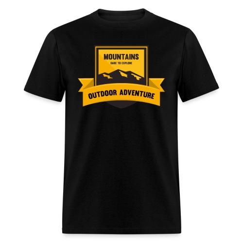 Mountains Dare to explore T-shirt - Men's T-Shirt