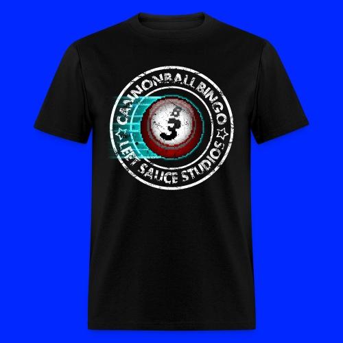 Vintage Cannonball Bingo 8-Bit Ball Tee - Men's T-Shirt