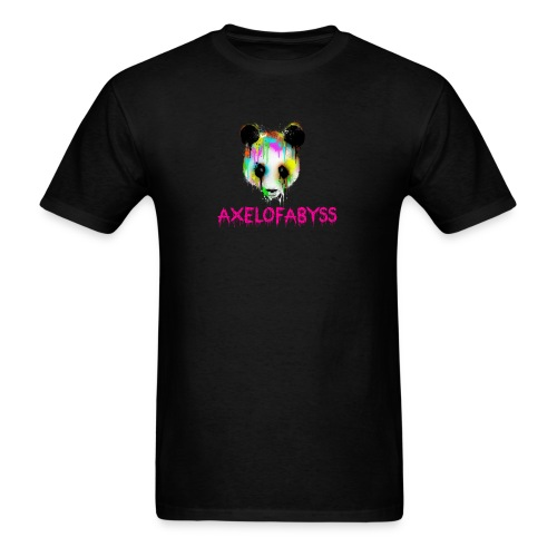 Axelofabyss panda panda paint - Men's T-Shirt