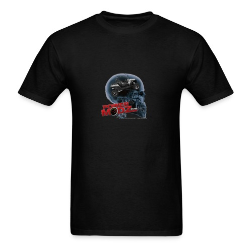 RZR SLDHED POWERMODZ png - Men's T-Shirt