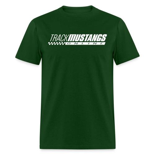 TMO Logo White - Men's T-Shirt