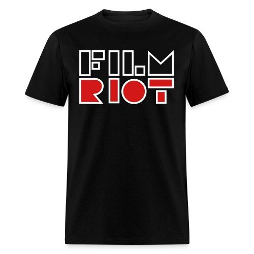 vertical FilmRiot logo space - Men's T-Shirt