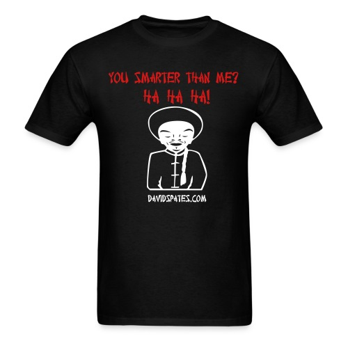 smarter - Men's T-Shirt