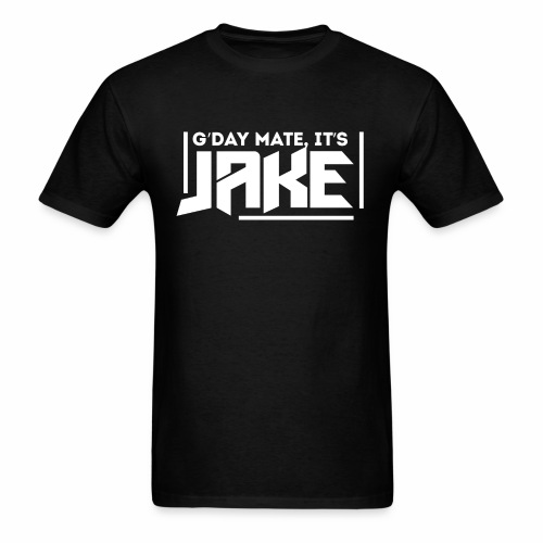 G'Day Mate It's Jake White Logo - Men's T-Shirt