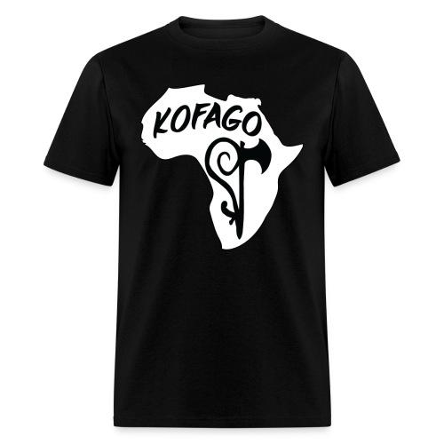 Kofago Logo Inverted - Men's T-Shirt