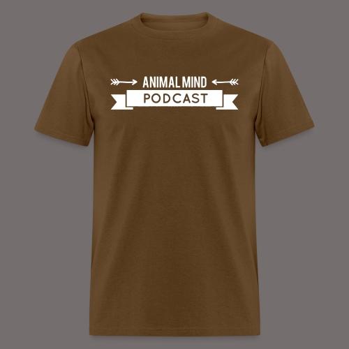 Animal Mind Podcast - Arrow Banner - Men's T-Shirt