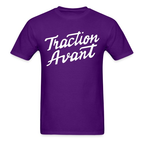Traction Avant Script - Men's T-Shirt