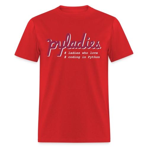 PyLadies Ladies who love coding in Python - Men's T-Shirt