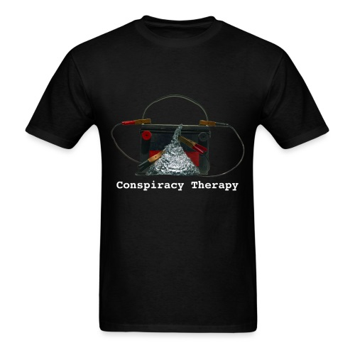 Conspiracy Therapy - Men's T-Shirt