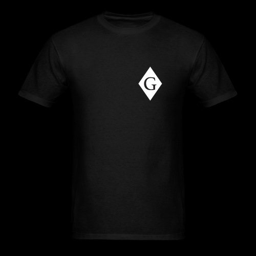 Glenester Black on White Diamond - Men's T-Shirt