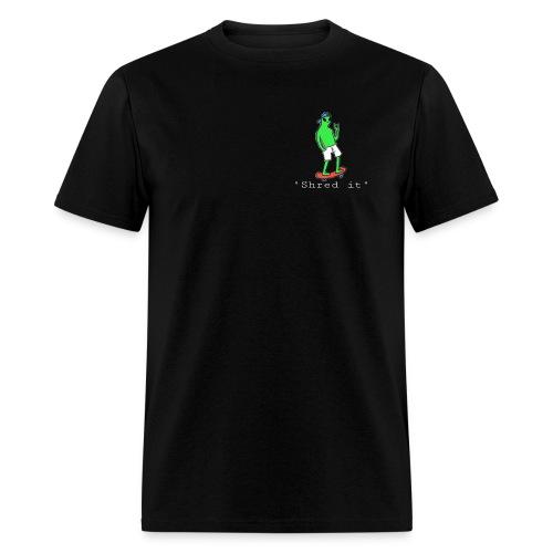 Shred it alien - Men's T-Shirt