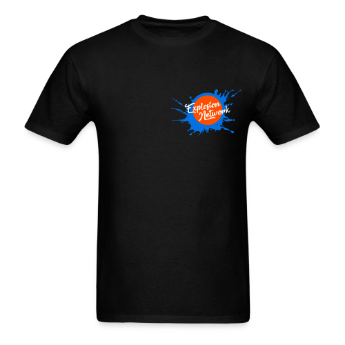 Black Explosion Network Pocket Tee - Men's T-Shirt