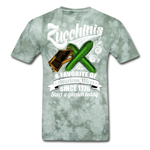 Zucchinis_PrintWhite - Men's T-Shirt