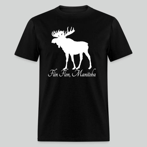 Moose White png - Men's T-Shirt