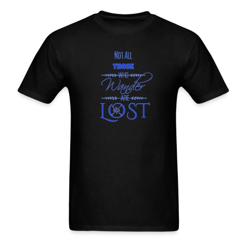 LTBA Not All Those Who Wander Are Lost - Men's T-Shirt