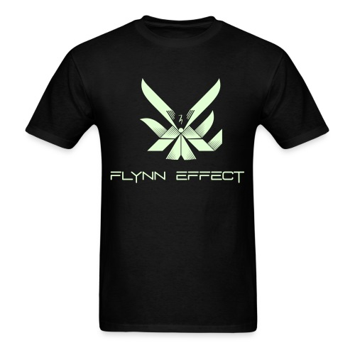 Flynn Effect Logo Text - Men's T-Shirt