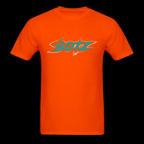 BOTZ Teal Logo - Men's T-Shirt