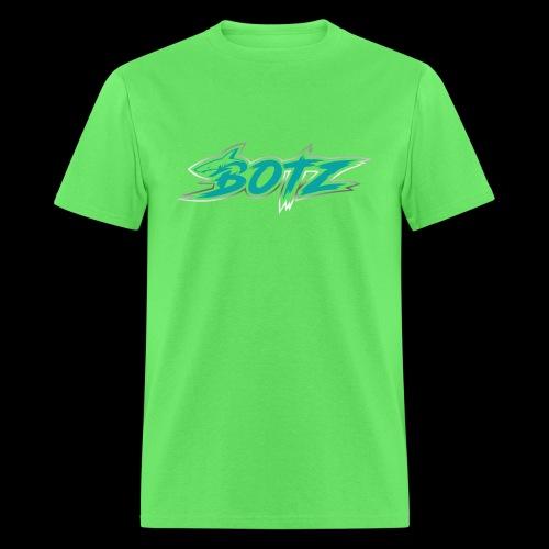 BOTZ Teal Logo - Men's T-Shirt