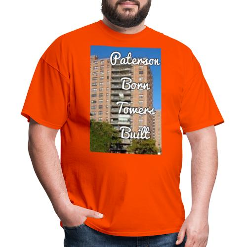 Paterson Born Towers Built - Men's T-Shirt