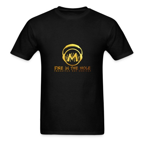 fire in the hole - Men's T-Shirt