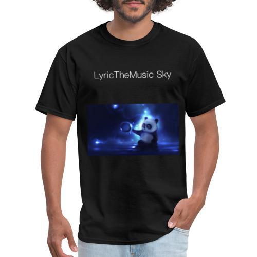"""LyricTheMusic Sky"" MERCH - Men's T-Shirt"