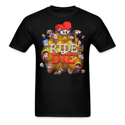 Ride Or Die Shirt (Full) - Men's T-Shirt