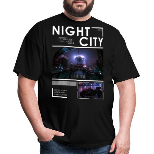 Night City Japan Town - Men's T-Shirt