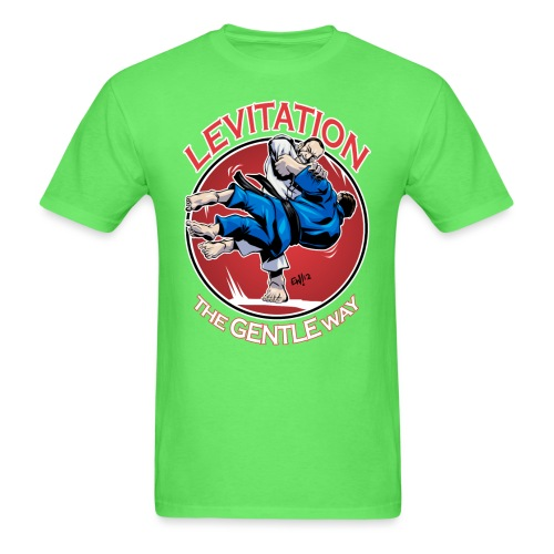 Judo Levitation for dark shirt - Men's T-Shirt