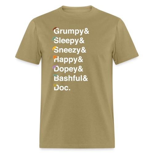 dwarfswhite - Men's T-Shirt