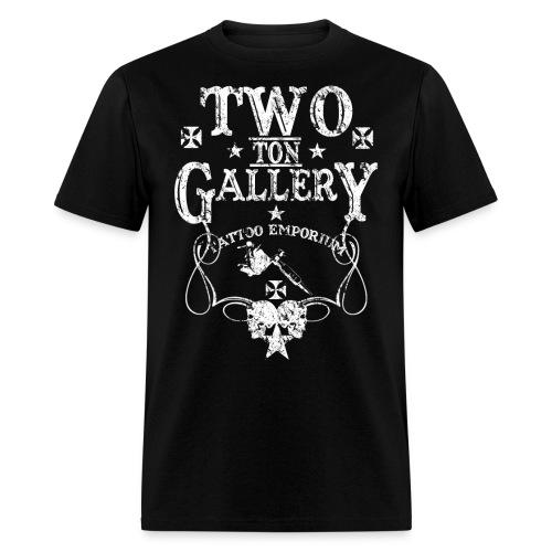 tongasllerysonwhiteaged - Men's T-Shirt