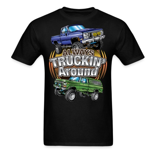 Chevy Truckin Around - Men's T-Shirt