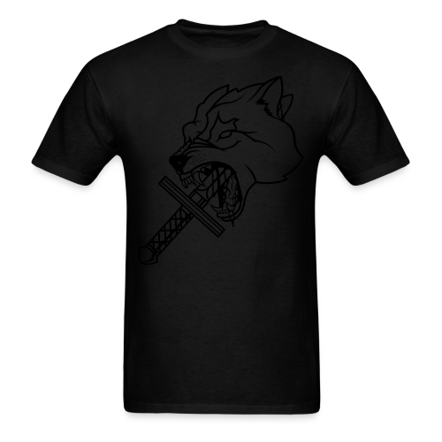 Heretic Hoard Wolf - Men's T-Shirt