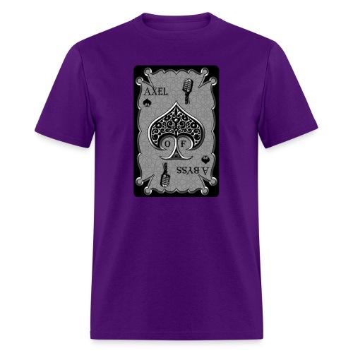 Axelofabyss Spade Card - Men's T-Shirt