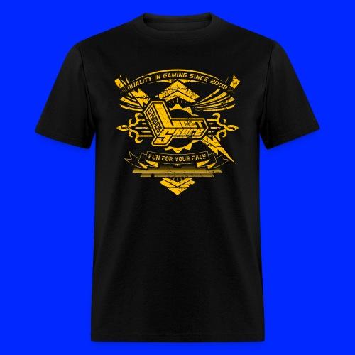 Vintage Leet Sauce Studios Crest Gold - Men's T-Shirt