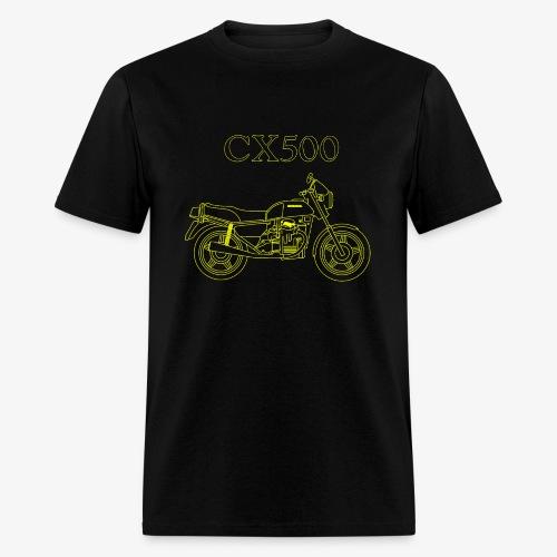 CX500 line drawing - Men's T-Shirt