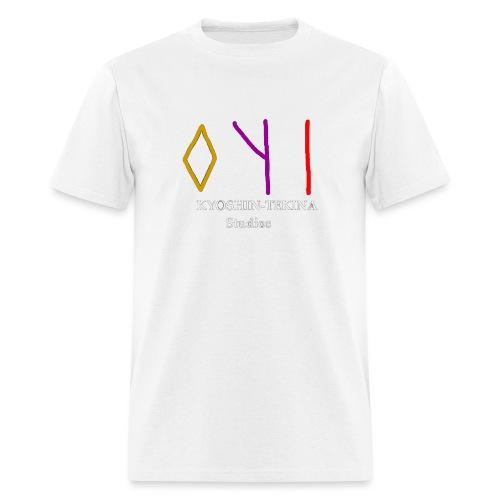 Kyoshin-Tekina Studios logo (white text) - Men's T-Shirt
