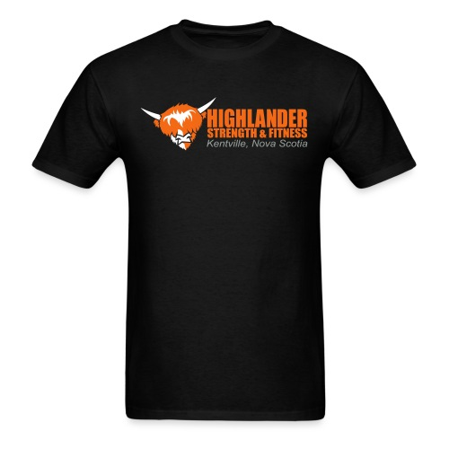 Highlander logo - Men's T-Shirt