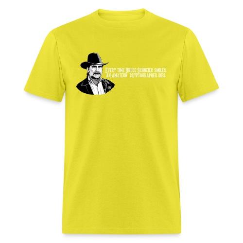 schneier24 cowboy white - Men's T-Shirt