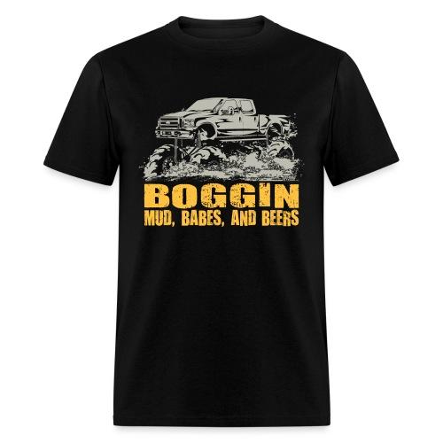 Mud Truck Beer Boggin - Men's T-Shirt